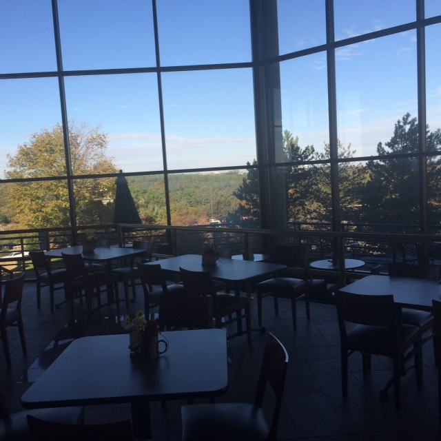 cafe with the view