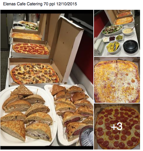 Pizza and stuff catering in Boston