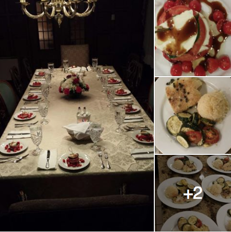 Private dinner catering Boston