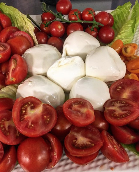 Cheese and Tomato Salad
