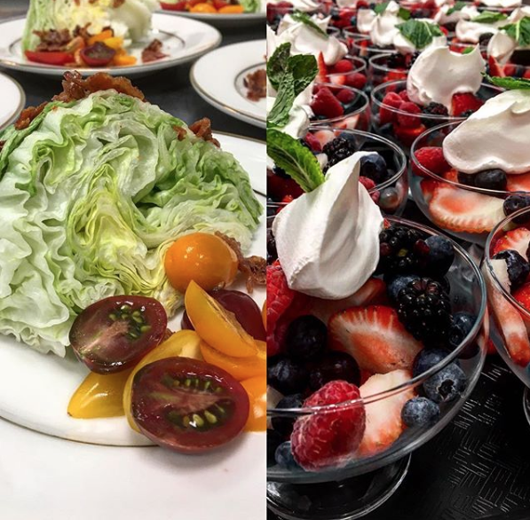 Fruit and Healthy Salads Catering Bostoin